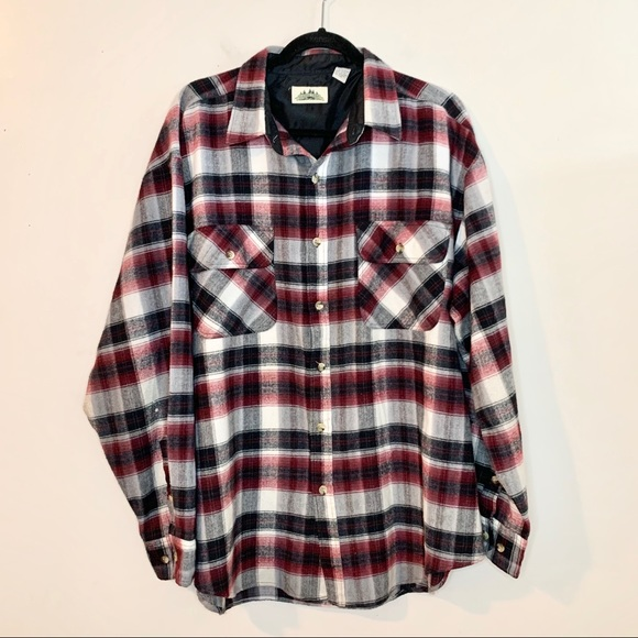 Timber Trail Other - TIMBER TRAIL Men's Plaid Flannel Button Down Shirt